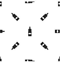 medical drops pattern seamless black vector image vector image