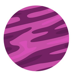 Far away planet icon isolated vector