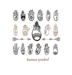Hamsa vector image