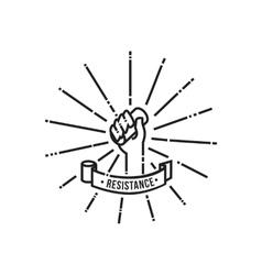 Toilet paper resistance icon vector