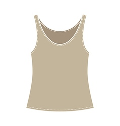 Vest Single vector image