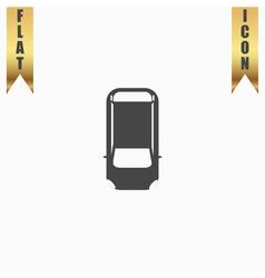 car top view vector image