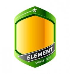 graphic design element vector image