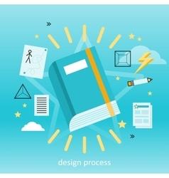 Design Process Concept vector image