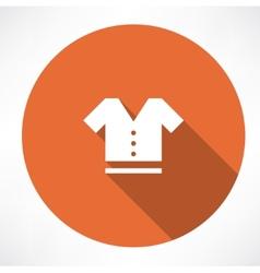 T-shirt symbol vector image