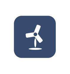 fan icon flat simple design vector image
