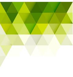 Abstract green gradient geometric modern template vector