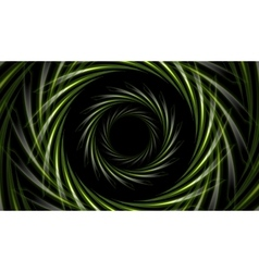 Abstract green tech background vector