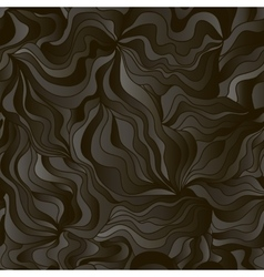 Abstract wave background with imitation of black vector