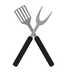 bbq and grill tools vector image