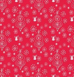 Christmas pattern74 vector image