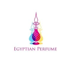Egyptian perfume vector