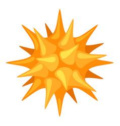 Pollen icon on white background vector