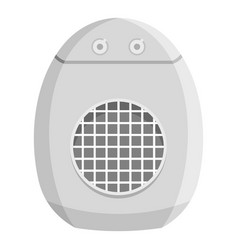 Portable conditioner icon flat style vector