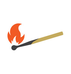 safety match icon vector image