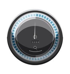 Speedometer to calculate speed icon cartoon style vector