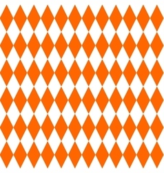 Tile orange pattern vector image