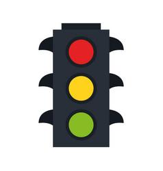 traffic light icon image vector image