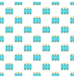 Water treatment for beer production pattern vector