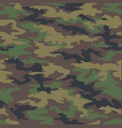 Woodland hunting camoflauge seamless pattern vector