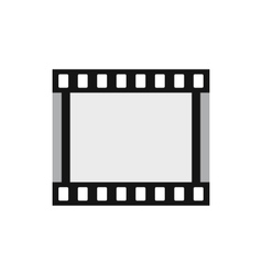 Film strip icon in flat style vector image