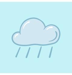 icon rain vector image vector image