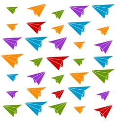 paper plane vector image