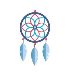 Ancient magic symbol tribe spiritual amulet vector