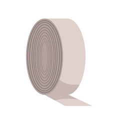 Bandage roll medical equpment clinic vector