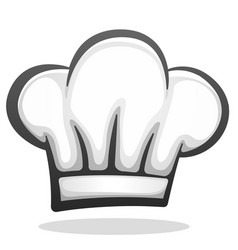 chef hat icon design vector image