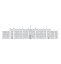 chilean presidential palace la moneda vector image