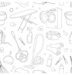 Doodle pattern set cleanup vector