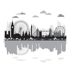 London skyline silhouette 9 vector