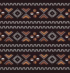 textile fashion african print tribal seamless vector image