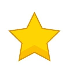 golden star award icon vector image
