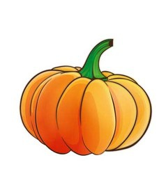 pumpkin 1 vector image vector image