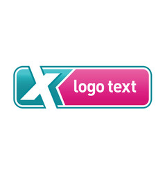 letter x logo icon design vector image vector image