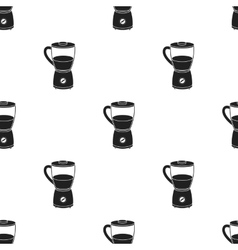 Blender icon in black style isolated on white vector image