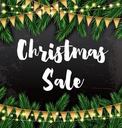 Christmas Sale Business Card vector