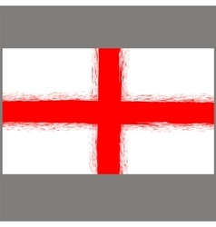 English St George Flag vector