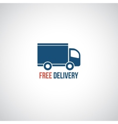 Free delivery icon vector image