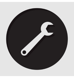 Information icon - spanner vector