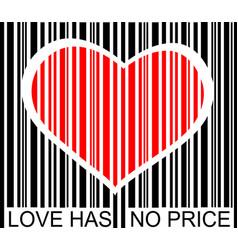 Love has no price vector