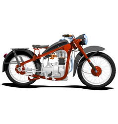 Motocycle vector