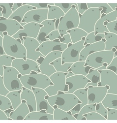 Cute birds pattern vector image vector image
