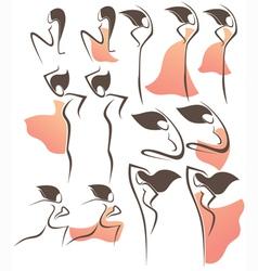 flamenco style vector image vector image