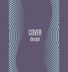 Abstract cover minimal trendy vector