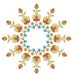 Artistic ottoman pattern series thirty six vector