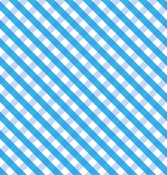 Blue Gingham vector image