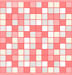 Bright mosaic seamless pattern background square vector